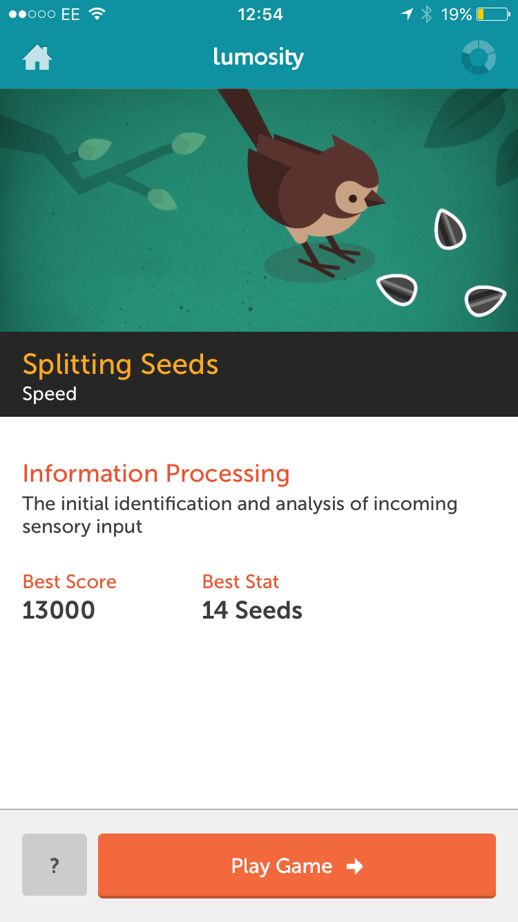 lumosity brain-training game