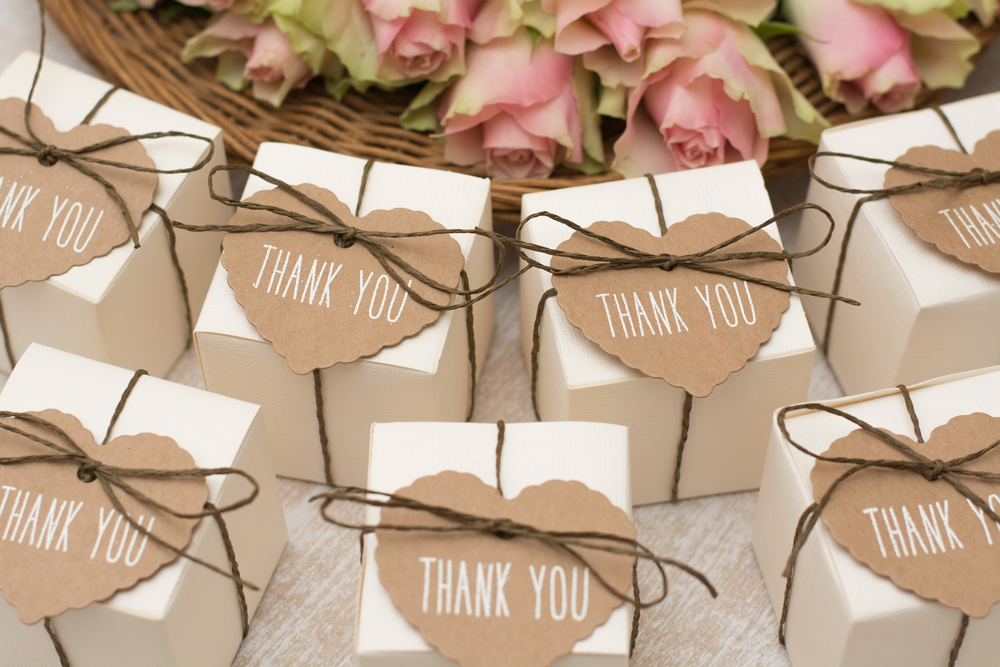 Wedding gifts, presents, thank you
