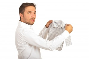 Shirt, shrink, shrunk shirt, laundry fail
