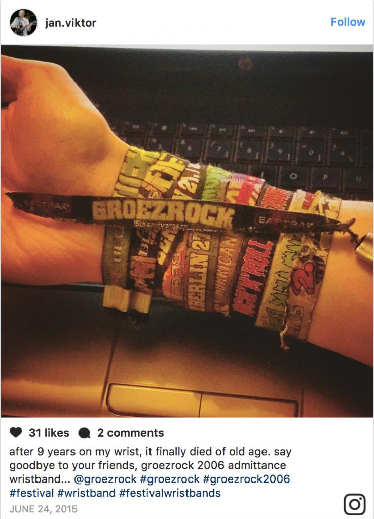 festival wristbands