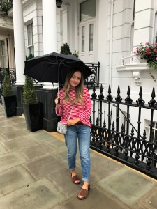 Rachael Martin Influencer umbrella