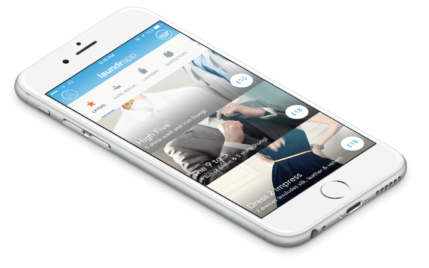 Laundrapp, the dry cleaning & laundry app