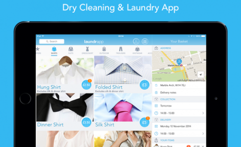 Laundrapp launches on Kindle