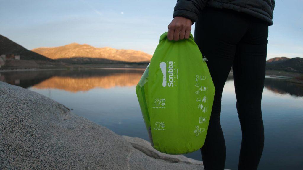 Scruba wash bag as tips for travellin